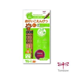 TOMBOW 蜻蜓 - YO-i 兒童學習大三角鉛筆組 ( 6B )