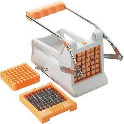 EXCELSA 2in1推式薯條切條器(橘)