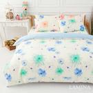 LAMINA  花想曲-藍   雙人加大四件式純棉床包被套組