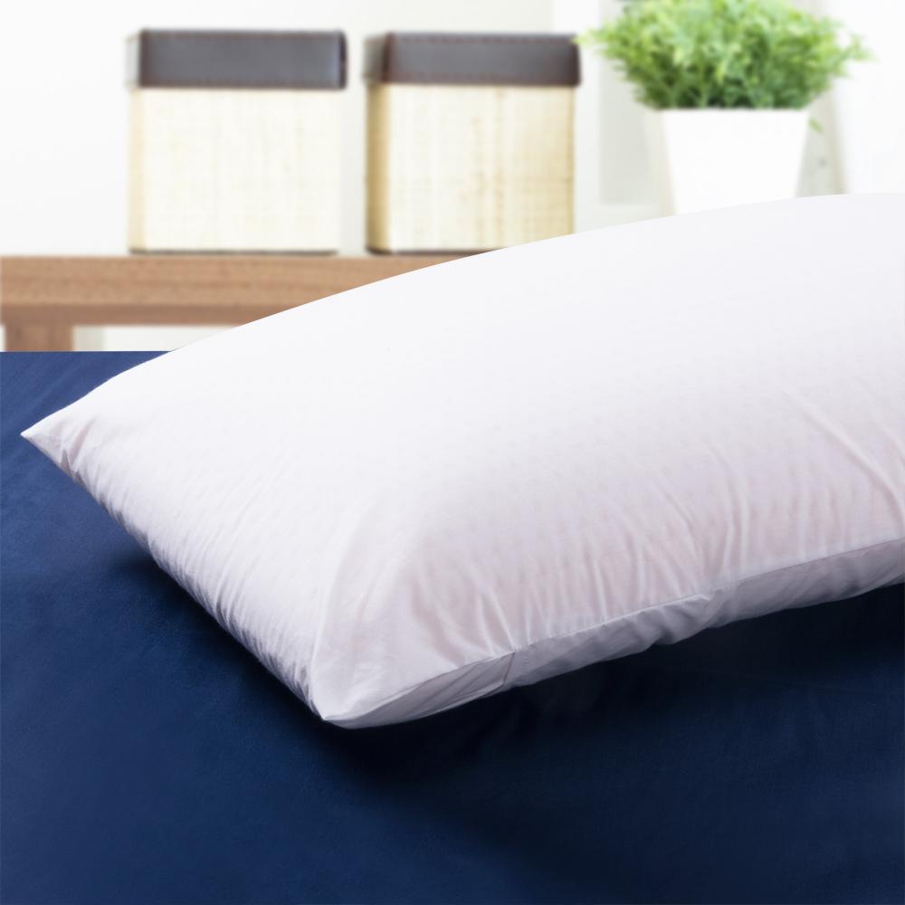 舒柔雅緻 美國進口平面透氣乳膠枕-2入
