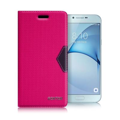 GENTEN Samsung Galaxy A8 (2016) 簡約守護磁力皮套