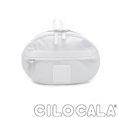 CILOCALA 亮彩尼龍防潑水TAMAGO側背包  白色