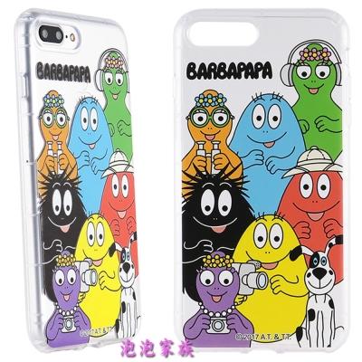 BARBAPAPA泡泡先生iPhone 8/7 Plus(5.5吋)空壓保護套-...