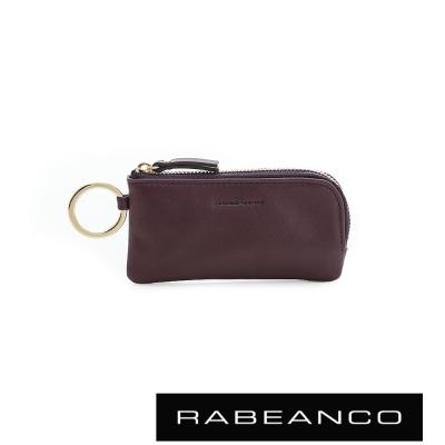 RABEANCO-迷時尚系列鑰匙零錢包-深紫
