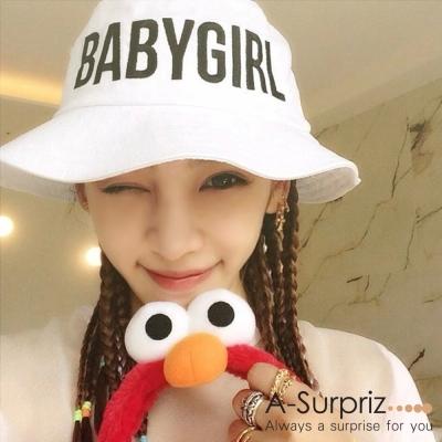 A-Surpriz BABYGIRL漁夫帽(優雅白)