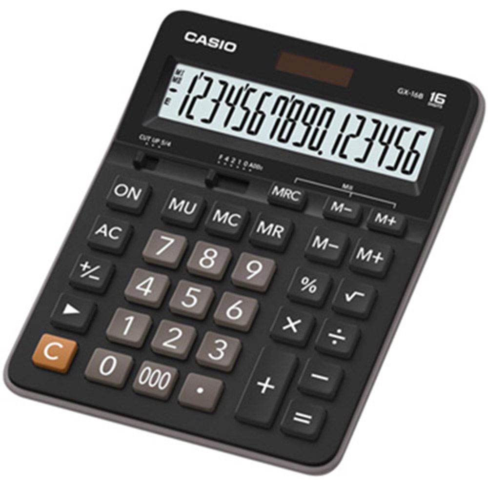 Casio卡西歐 GX-16B 桌上型16 位數計算機