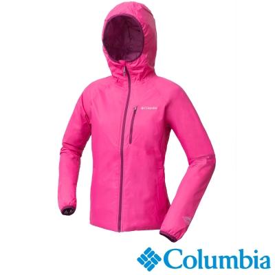 Columbia哥倫比亞  女款-OH防水保暖外套-桃紅色 UXL50340FC
