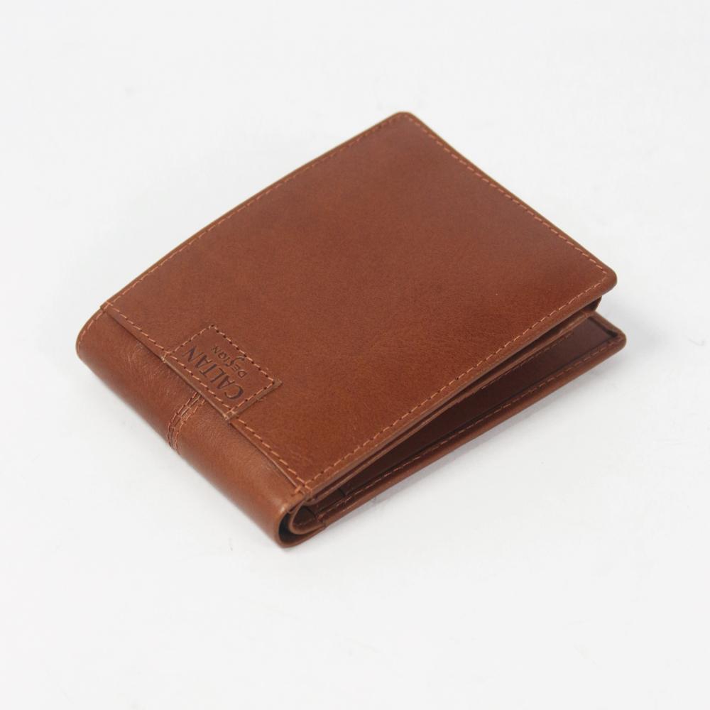 CALTAN-男夾 短皮夾 英倫紳士風 獨家外層暗卡層 拼貼logo-074137cd