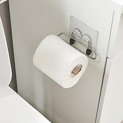 樂貼工坊 不鏽鋼衛生紙架/捲筒式/微透貼面-12.5x7.5x3