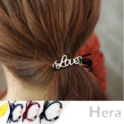 Hera 赫拉 love字母鋯石髮束/髮圈/手鍊-兩用-三色