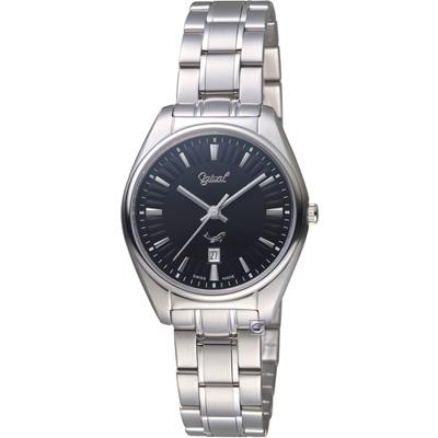 愛其華Ogival知性韻調時尚腕錶(350-01LS-B)黑/30mm