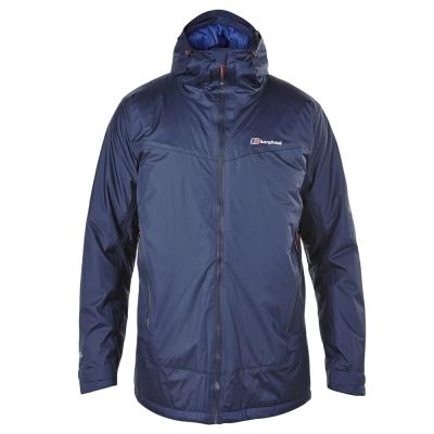 【Berghaus貝豪斯】男款AQ2溫度調節保暖外套H22MU4-藍