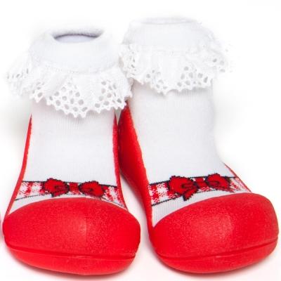 韓國 Attipas 學步鞋 正廠品質有保證 尺寸齊全AB02-芭雷紅