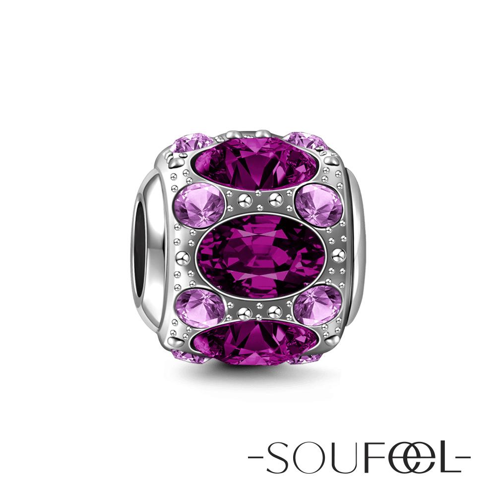 SOUFEEL索菲爾 925純銀珠飾 高貴 串珠