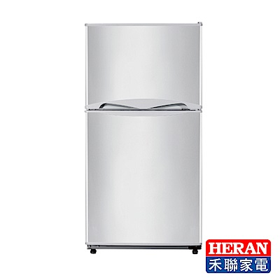 HERAN禾聯 127L 雙門小冰箱 HRE-B1313