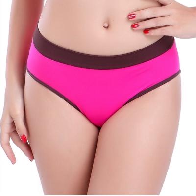 Keep Chic孕婦裝-紫紅色無縫一片式三角內褲