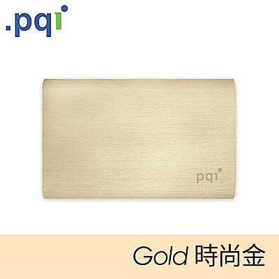 PQI Power 10000V 髮絲紋行動電源 時尚金