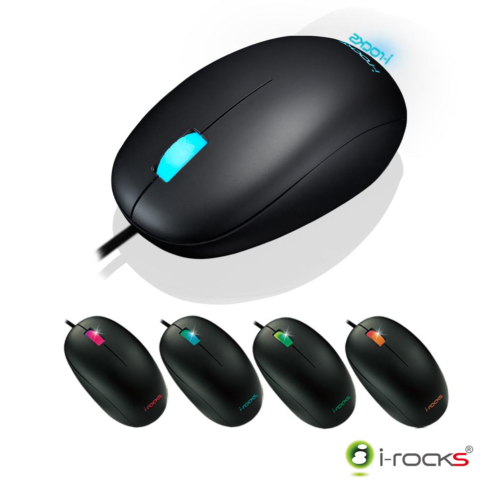 i-Rocks M05多彩炫光RGB光學電競滑鼠