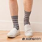【HANG TEN】素色條紋長襪2雙入組(男)_深灰(HT-026-69)