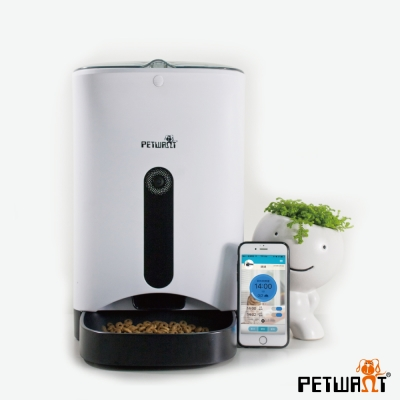 PETWANT APP智慧型寵物餵食器 PF-103-TW