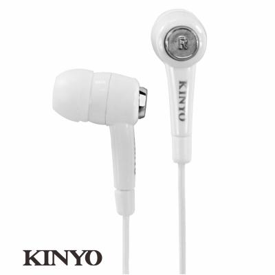 KINYO炫白密閉式耳機EMP57