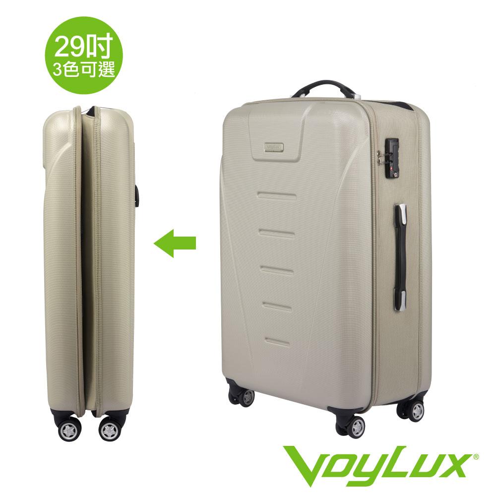 Voylux 伯勒仕-LUXAGE 29吋硬殼八輪 收摺旅行箱-香檳色3988929 @ Y!購物