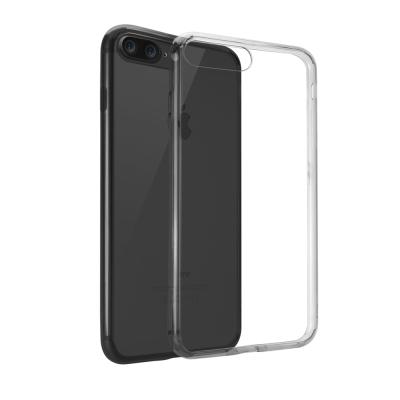 Ozaki Crystal+ iPhone 7+ 吸震邊框透明保護殼