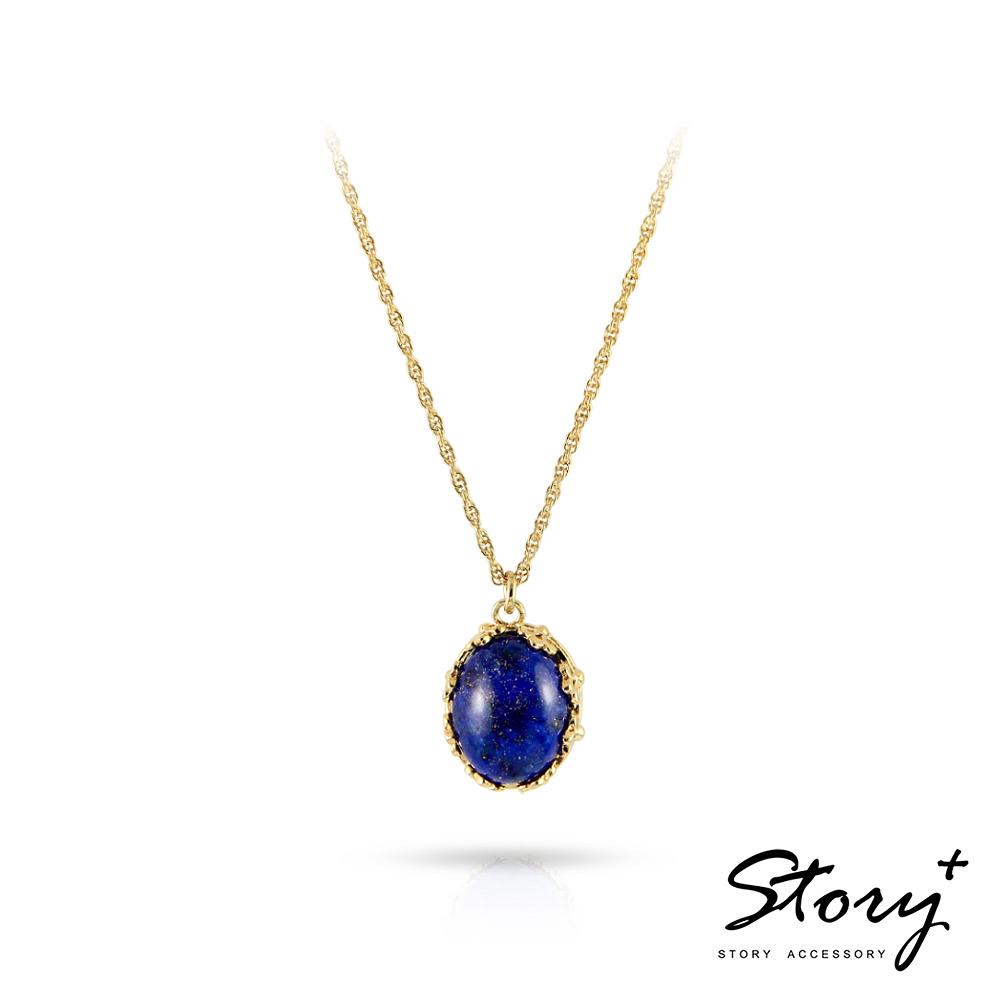 STORY故事銀飾-璽愛-天然寶石系列-絢爛 純銀項鍊
