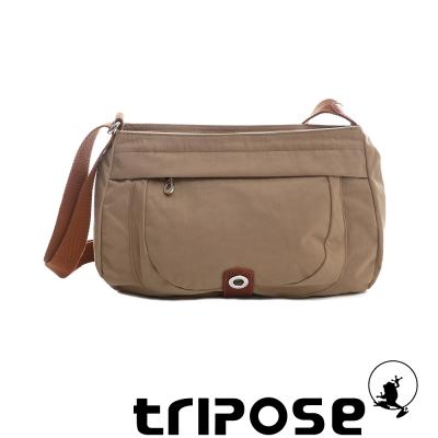 tripose 微旅系列淑女側肩包 駝色