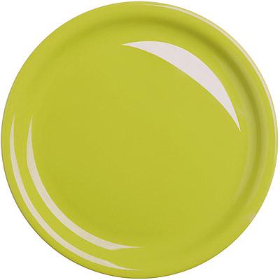 EXCELSA Fashion陶製淺餐盤(綠26.5cm)