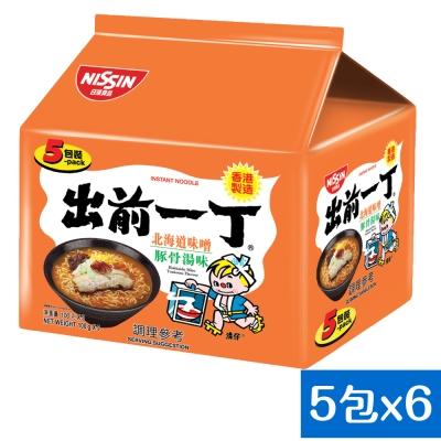 日清 出前一丁北海道味噌豚骨湯味速食麵(100gx30入)