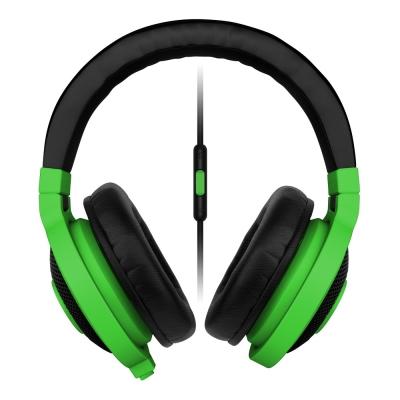 Razer雷蛇-Kraken-Mobile-北海巨妖電競耳機-綠