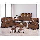 H&D 樟木實木板椅組 (寬194X深75X高105cm)