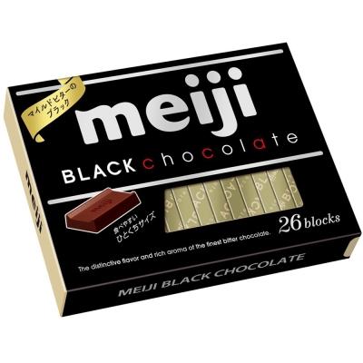 明治 代可可脂黑巧克力26枚盒裝(120g)