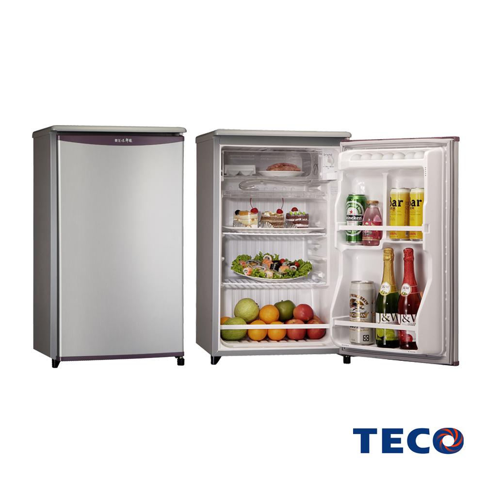 TECO東元91公升單門小鮮綠冰箱 R1061LA