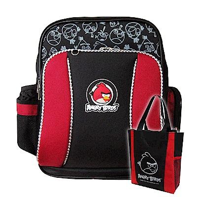 Angry Birds MIT舒壓護脊書包+萬用手提袋
