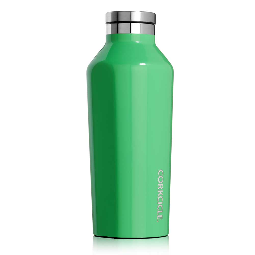 CORKCICLE三層真空易口瓶270ml-加勒比海綠