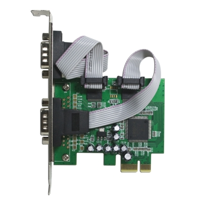 伽利略 PCI-E RS232 2 Port 擴充卡