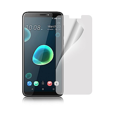 NISDA HTC Desire 12+ 高透光抗刮螢幕保護貼-非滿版