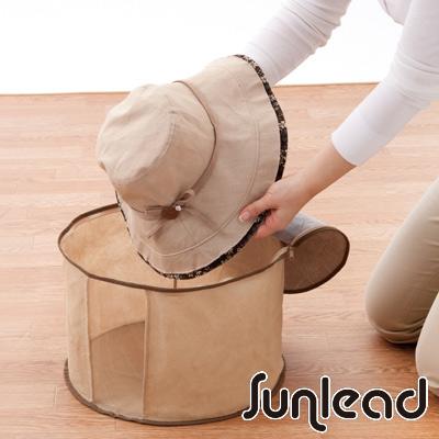 Sunlead 竹炭去味防塵透氣帽子收納盒/收納袋
