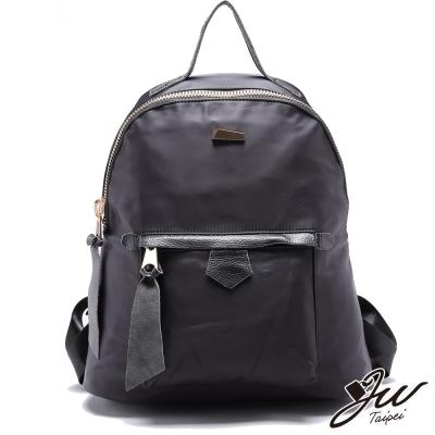 It Bags 環遊世界簡約素面尼龍手提後背包  共一色