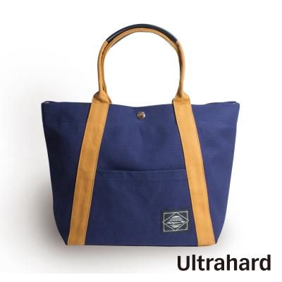Ultrahard 兩用托特包- City Impression Series 潮流磚黃藍