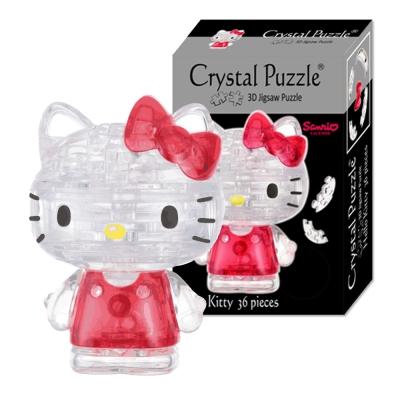 Hello Kitty凱蒂貓3D拼圖-(8cm系列-36片)