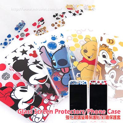 Disney iphone6 plus/6s plus大人物玻保+保護套