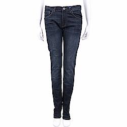 VERSACE  深藍色刷白修身棉質牛仔褲
