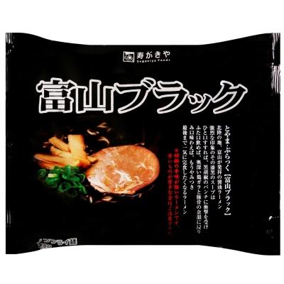 Sugakiya 富山黑拉麵-黑胡椒風味(120g)