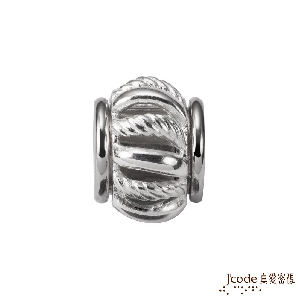J'code真愛密碼銀飾 旋風純銀串珠