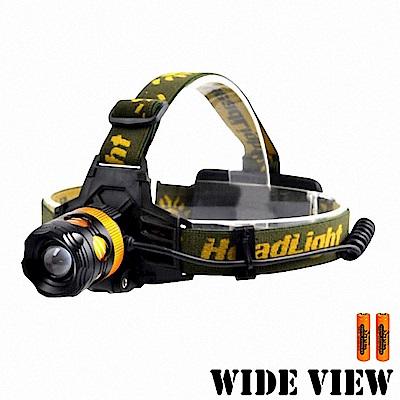【WIDE VIEW】10W黃白雙光源調焦頭燈組(NZL-2900-2BC)-快