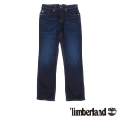 Timberland 男款深藍純色直筒牛仔褲