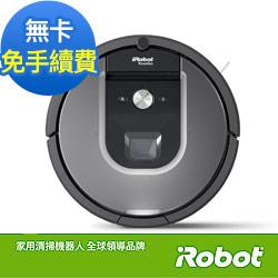 (無卡分期-12期)美國iRobot Roomba 960智慧吸塵+wifi掃地機器人